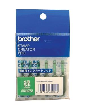 【新品/取寄品/代引不可】使いきりタイプ補充インク(グリーン) PRINK6G