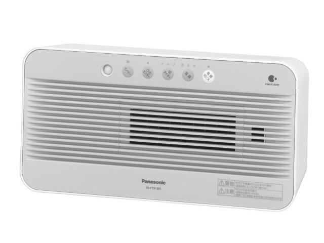 【新品/取寄品】セラミックファンヒーター DS-FTX1201-W ホワイト