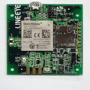 【新品/取寄品/代引不可】3G無線モジュールHL8548-G組込み評価ボード(パッシブGPSアンテナ用) EB-SL01G1