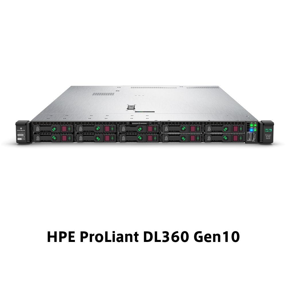 【新品/取寄品/代引不可】DL360 Gen10 Xeon Gold 5222 3.8GHz 1P4C 32GBメモリ ホットプラグ 8SFF(2.5型)P408i-a/2GB 800W電源 NC GSモデル P19178-291