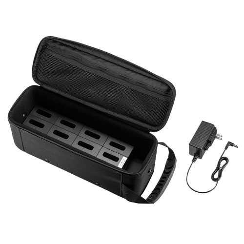【新品/取寄品/代引不可】ワイヤレスガイド用充電器(12台用) MM-WGS1-CL12