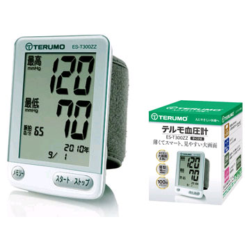 【新品/取寄品】テルモ 手くび式電子血圧計 ES-T300ZZ