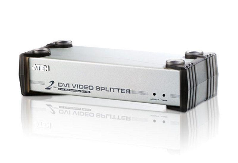 【新品/取寄品/代引不可】2ポートDVI分配器 VS-162/ATEN