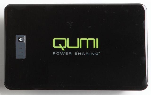 【新品/取寄品/代引不可】QUMI専用モバイル バッテリー18000mAh QB-180K-B2 QB-180K-B2