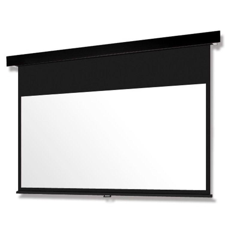 【新品/取寄品/代引不可】Pセレクション手動スクリーン 黒パネル/100型HD SMP-100HM-K3-WG
