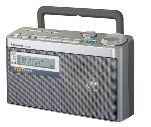 【新品/取寄品】FM緊急警報放送対応FM/AM2バンドラジオ RF-U350-S シルバー
