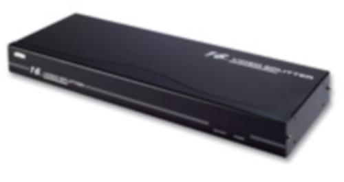 【新品/取寄品/代引不可】16ポート ビデオ&オーディオ 分配器 VS-0116/ATEN