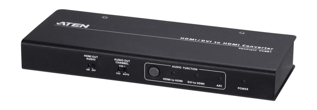 【新品/取寄品/代引不可】4K対応 HDMIオーディオエンベデッダー/ディエンベデッダー VC881/ATEN