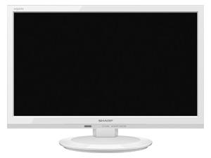 【新品/取寄品/代引不可】2T-C19AD-W ホワイト アクオス 19V型 地上・BS・110度CSデジタルハイビジョン液晶テレビ