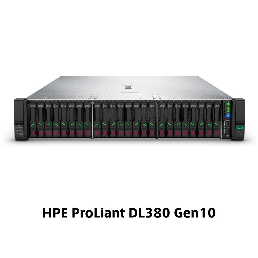 【新品/取寄品/代引不可】DL380 Gen10 Xeon Gold 5220 2.2GHz 1P18C 32GBメモリ ホットプラグ 8SFF(2.5型)P408i-a/2GB 800W電源 NC GSモデル P20248-291