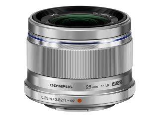 【新品/取寄品】OLYMPUS M.ZUIKO DIGITAL 25mm F1.8 シルバー