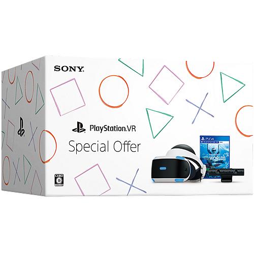 【新品/在庫あり】プレイステーションVR本体 PlayStation VR Special Offer [CUHJ-16011]