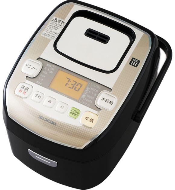 【新品/取寄品】アイリス オーヤマ 圧力IHジャー炊飯器 米屋の旨み 銘柄炊き 3合 RC-PA30-B