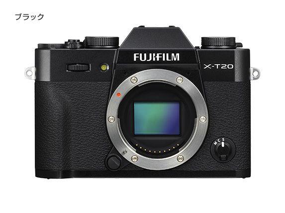 【新品/取寄品】FUJIFILM X-T20 ボディ ブラック