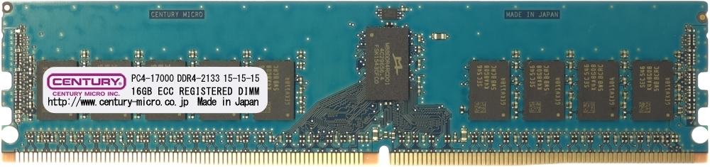 【新品/取寄品/代引不可】SV用 PC4-17000 DDR4-2133 288pin RDIMM 2RK 1.2v 96GB (16GBx6) CK16GX6-D4RE2133L82