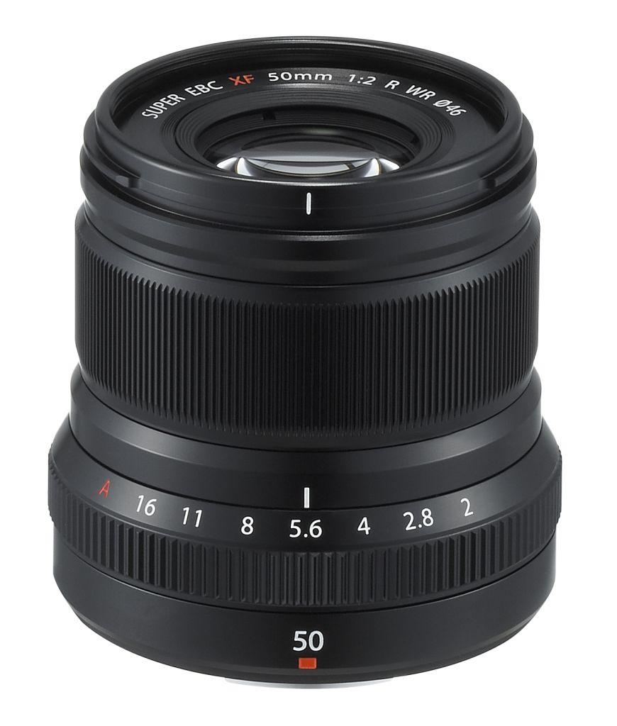 【新品/取寄品/代引不可】中望遠レンズ XF50mmF2 R WR(ブラック/7群9枚) XF50MMF2 R WR B