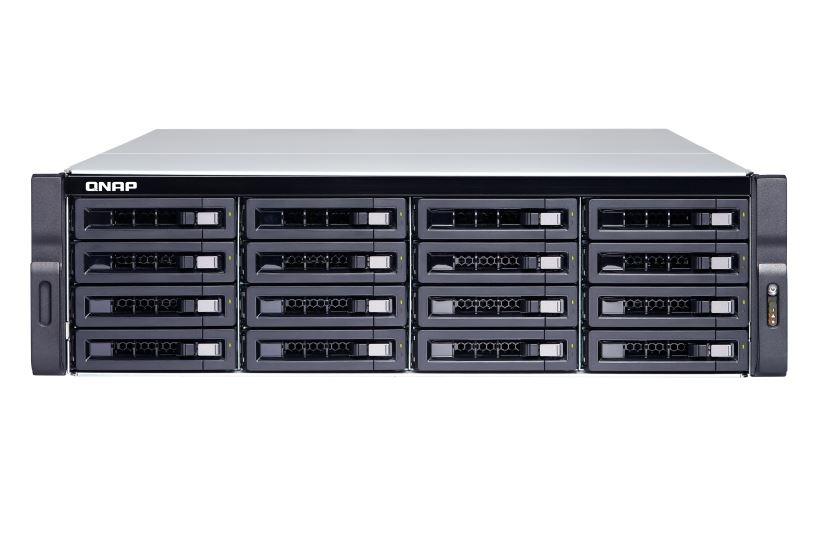 【新品/取寄品/代引不可】TS-1683XU-RP-E2124-16G 224TB搭載モデル 3Uラック型 NAS ニアラインHDD 14TBx16個 TS-1683XU-RP/224TB
