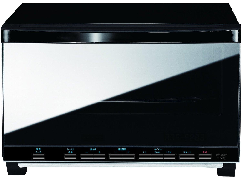 【新品/在庫あり】ツインバード ミラーガラスオーブントースター TS-4057B TWINBIRD