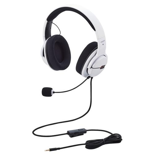 【新品/取寄品】ARMA FPSゲーミングヘッドセット HS-ARMA100WH ホワイト