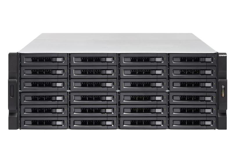 【新品/取寄品/代引不可】TS-2483XU-RP-E2136-16G 336TB搭載モデル 4Uラック型 NAS ニアラインHDD 14TBx24個 TS-2483XU-RP/336TB