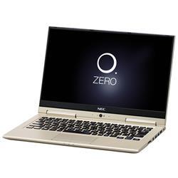 【新品/取寄品/代引不可】LAVIE Hybrid ZERO HZ550/GAG PC-HZ550GAG プレシャスゴールド