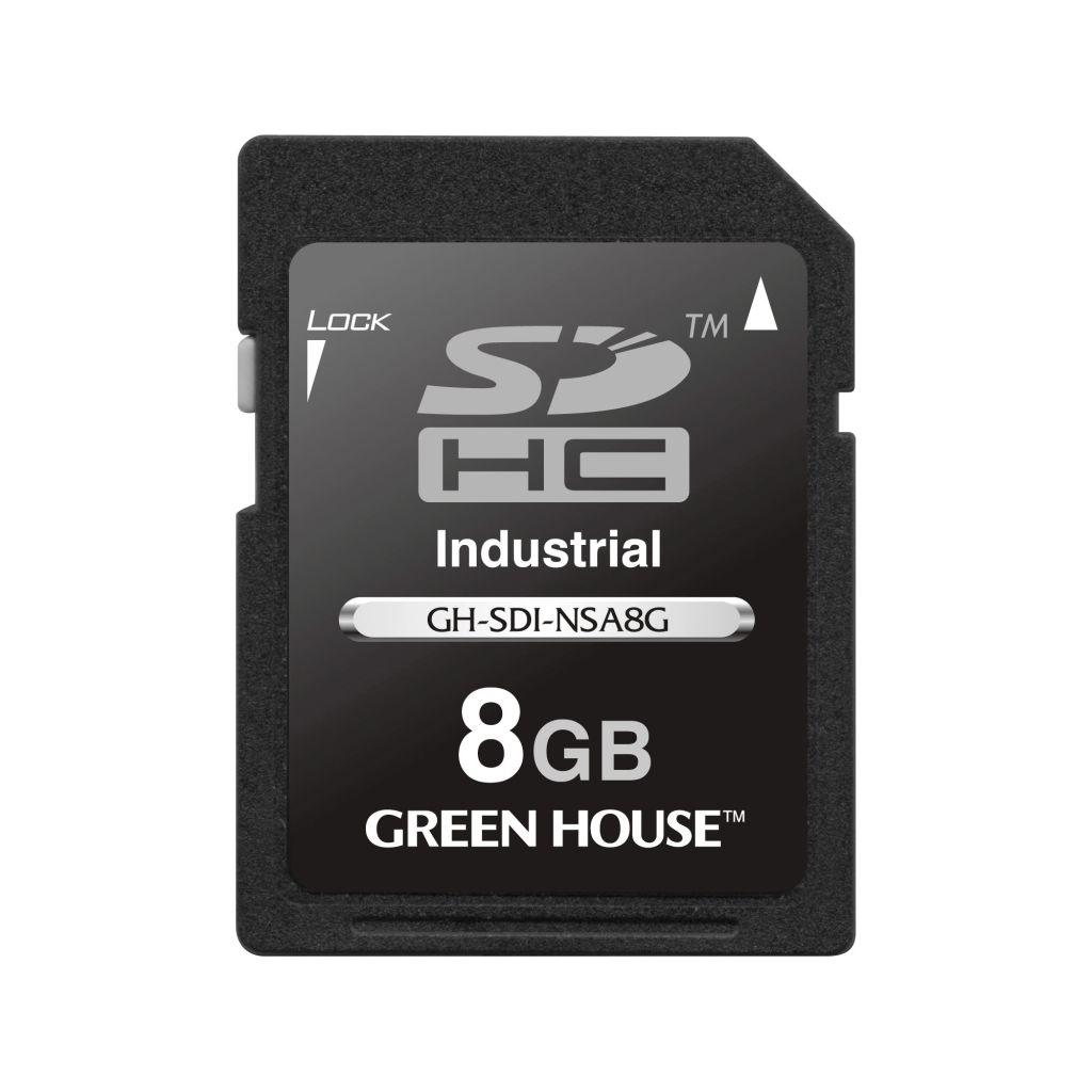 【新品/取寄品/代引不可】GH-SDI-NSA8G [8GB]