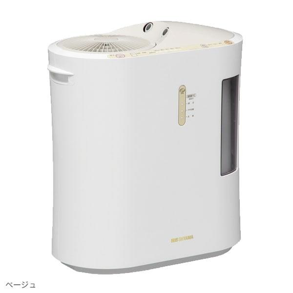 【新品/取寄品】アイリスオーヤマ 強力ハイブリット加湿器 1500ml SPK-1500-U ベージュ