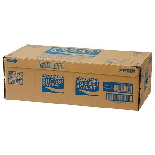 【通販限定/新品/取寄品/代引不可】ポカリスエット パウダー 1L用 74g*5袋*20コ入