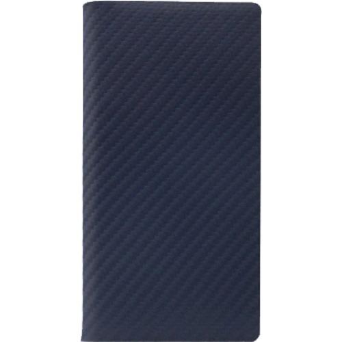 【通販限定/新品/取寄品/代引不可】エスエルジーデザイン iPhone X カーボンレザーケース ネイビー SD10512i8 1コ入