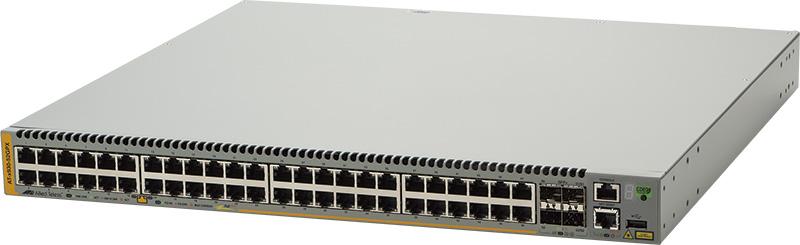 【新品/取寄品/代引不可】AT-x930-52GPX-Z1 [10/100/1000BASE-Tx48(PoE-OUT)、SFP+スロットx4(デリバリースタンダード保守1年付)] 1621RZ1