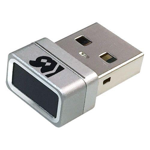 【新品/取寄品/代引不可】USB指紋認証システムセット・タッチ式 SREX-FSU4