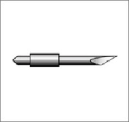 【新品/取寄品/代引不可】カッター刃φ1.5mm超硬刃 CB15U-K30-5