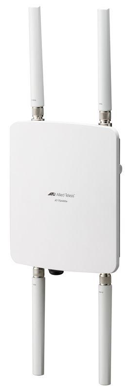 【新品/取寄品/代引不可】AT-TQ4400e-Z1 [IEEE802.11a/b/g/n/ac対応 屋外無線LANアクセスポイント、10/100/1000BASE-Tx1(PoE-IN)(デリバリースタンダード保守1年付)] 3342RZ1