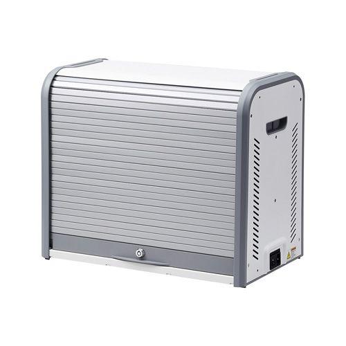 [メーカー在庫限り]【新品/取寄品/代引不可】iPad mini・8インチタブレット収納キャビネット(20台収納) CAI-CAB17W