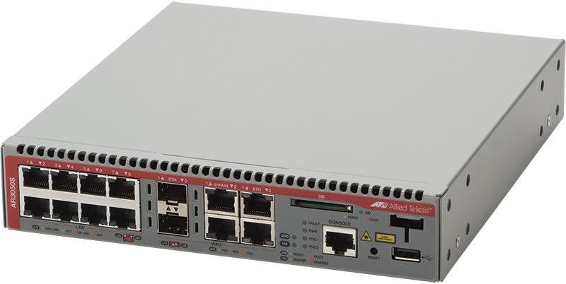 【新品/取寄品/代引不可】AT-AR3050S-Z1 [WAN:10/100/1000BASE-Tx2(コンボ)、SFPスロットx2(コンボ)、バイパスポートx2、LAN:10/100/1000BASE-Tx8、USBポートx1、SDカードスロットx1