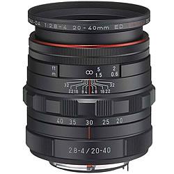 【新品/取寄品】HD PENTAX-DA 20-40mmF2.8-4ED Limited DC WR ブラック