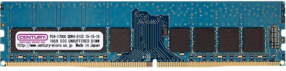 【新品/取寄品/代引不可】サーバー/WS用 DDR4-2133 16GB ECC付き 日本製 CD16G-D4UE2133