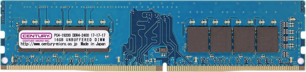 【新品/取寄品/代引不可】デスクトップ用 PC4-19200 DDR4-2400 288pin Unbuffered-DIMM 1.2v 64GBkit (16GBx4) CK16GX4-D4U2400