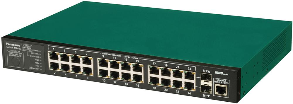 【新品/取寄品/代引不可】Switch-M24eG PN28240K [グリーン]