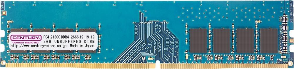 【新品/取寄品/代引不可】DT用 PC4-21300 DDR4-2666 288pin UDIMM 1.2v 16GB (8GBx2) 1RK CK8GX2-D4U2666H
