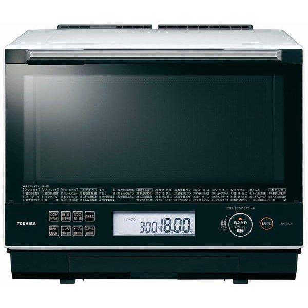 【新品/取寄品】東芝 スチームオーブンレンジ 30L ER-TD3000-W グランホワイトTOSHIBA 過熱水蒸気オーブンレンジ 石窯ドーム