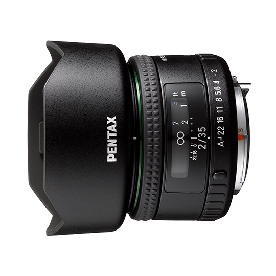 【新品/取寄品】広角レンズ HD PENTAX-FA 35MM F2 (フード・ケース付)