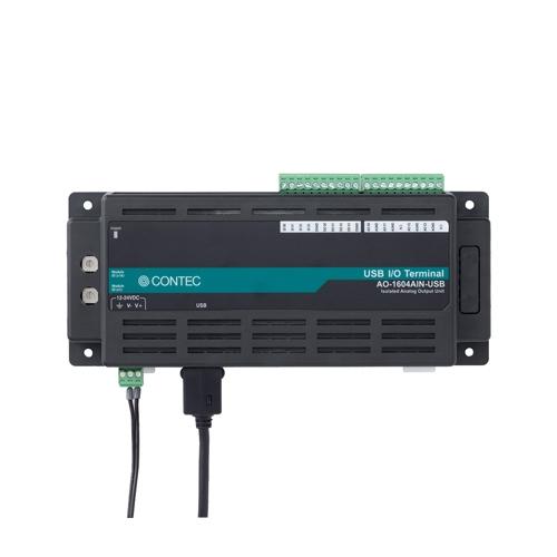 【新品/取寄品/】絶縁型アナログ出力ユニット 電流 USB対応 AO-1604AIN-USB