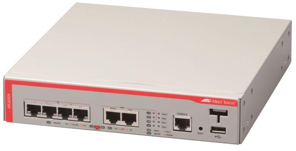 【新品/取寄品/代引不可】AT-AR2050V-T5アカデミック [WAN:10/100/1000BASE-Tx1、バイパスポートx1、LAN:10/100/1000BASE-Tx4、USBポートx1(デリバリースタンダード保守5年付)] 1661RT