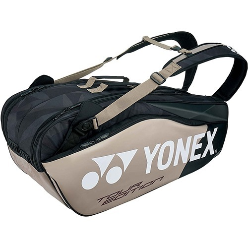 【通販限定/新品/取寄品/代引不可】ヨネックス ラケットバッグ6 リュック付 テニス6本用 プラチナ BAG1802R 695 1コ入