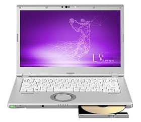 【新品/取寄品/代引不可】Let's note LV9 法人(Core i5-10310UvPro/8GB/SSD256GB/SMD/W10P64/14.0FullHD/電池S/顔認証/高セキュリティ対象商品) CF-LV9RDAVS