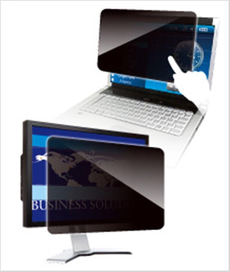 【新品/取寄品/代引不可】覗き見防止フィルター Looknon N8 デスクトップ用17.0インチ(4:3) 3枚セット LN-170N8/3MAI