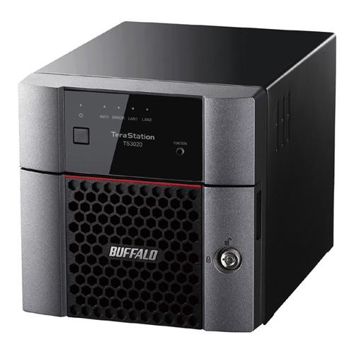 【新品/取寄品/代引不可】TeraStation TS3020シリーズ 2ベイデスクトップ 4TB TS3220DN0402