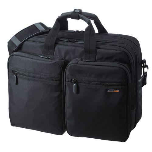 【新品/取寄品/代引不可】3WAYビジネスバッグ(出張用) BAG-3WAY21BK