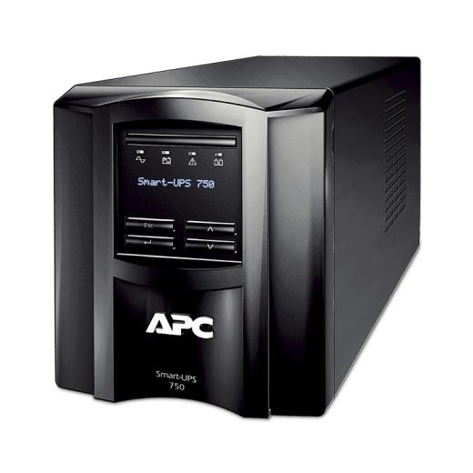 【新品/取寄品/代引不可】APC Smart-UPS 750 LCD 100V オンサイト7年保証 SMT750JOS7